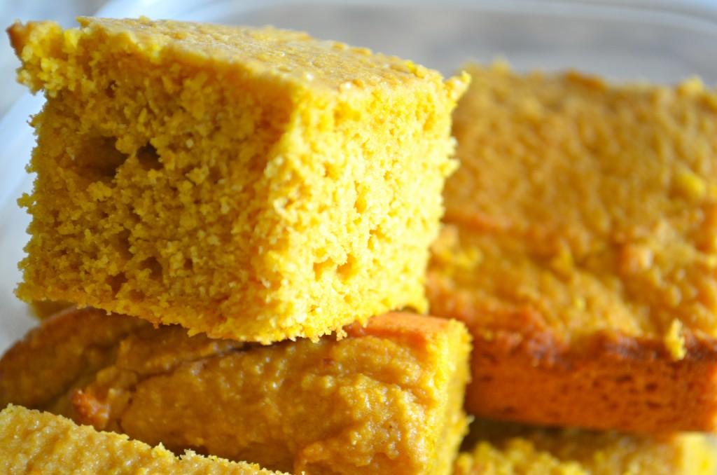 Pumpkin Cornbread - Bites 'n Brews