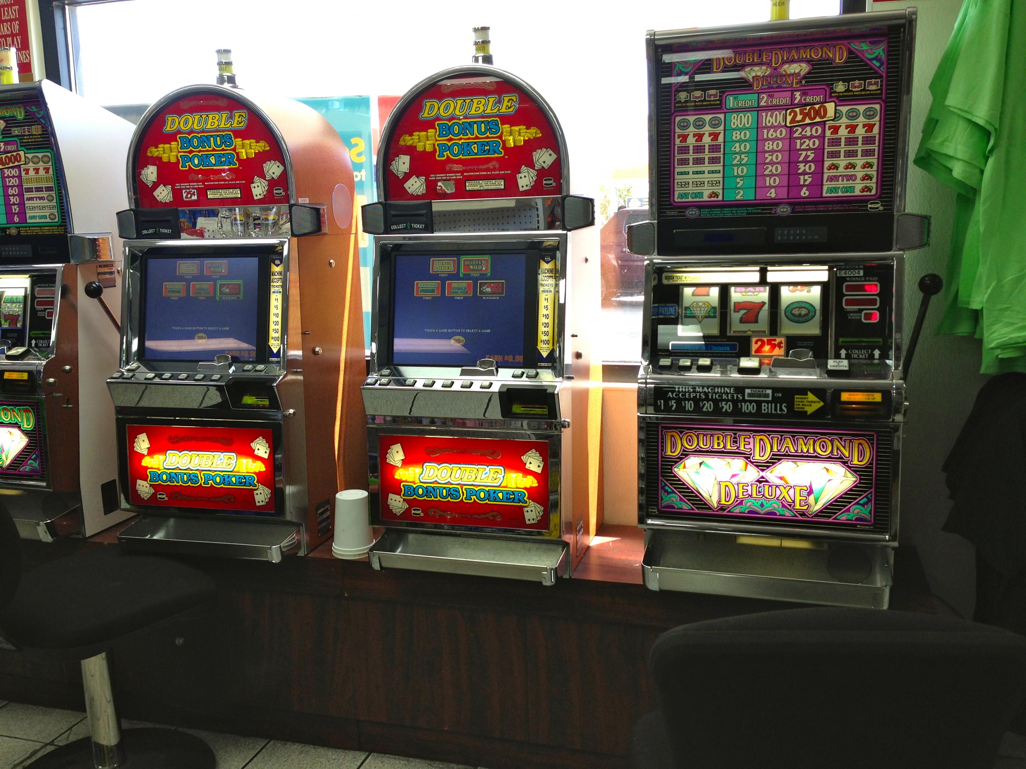 Gas station gambling machines casino night springfield ma teach craps