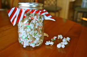 Eggnog Spiked Christmas Kettle Corn