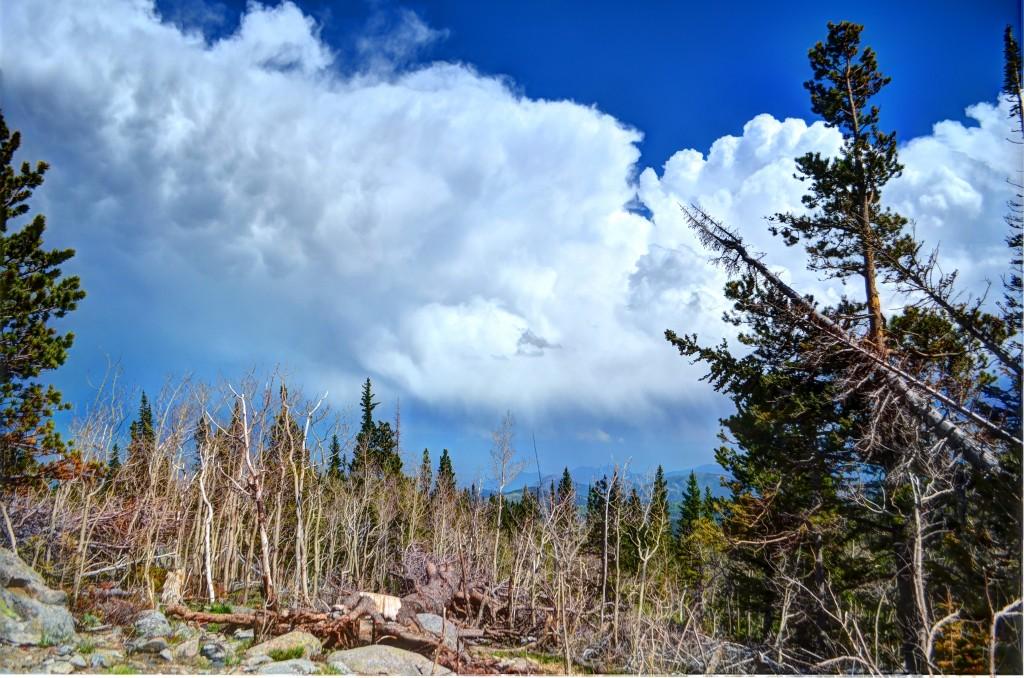 Cloudy Colorado